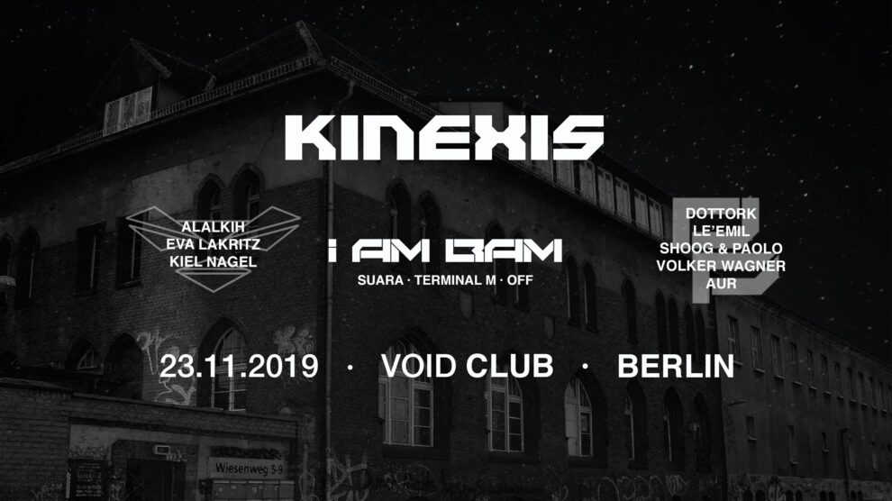 KINEXIS - VOID Club - Poster
